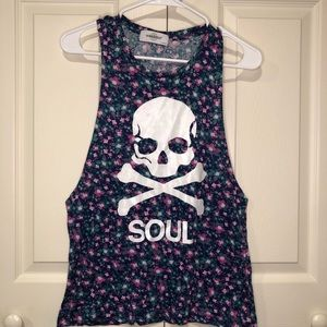 SoulCycle Graphic Tank / Tee Size Medium